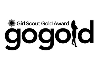 mark for GIRL SCOUT GOLD AWARD GOGOLD, trademark #85682908