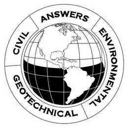 mark for ANSWERS ENVIRONMENTAL GEOTECHNICAL CIVIL, trademark #85682915