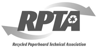 mark for RPTA RECYCLED PAPERBOARD TECHNICAL ASSOCIATION, trademark #85682971