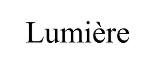 mark for LUMIÈRE, trademark #85683299