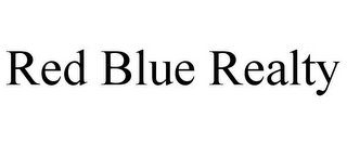 mark for RED BLUE REALTY, trademark #85683316
