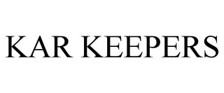 mark for KAR KEEPERS, trademark #85683492