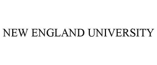 mark for NEW ENGLAND UNIVERSITY, trademark #85684104