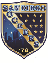 mark for SAN DIEGO SOCKERS '78, trademark #85684360