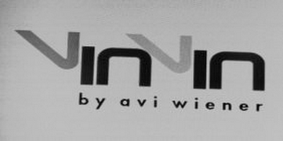 mark for VINVIN BY AVI WIENER, trademark #85684438