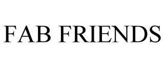 mark for FAB FRIENDS, trademark #85684593
