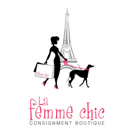 mark for LA FEMME CHIC CONSIGNMENT BOUTIQUE, trademark #85684839