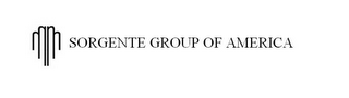mark for SORGENTE GROUP OF AMERICA, trademark #85684890