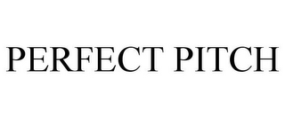 mark for PERFECT PITCH, trademark #85684942