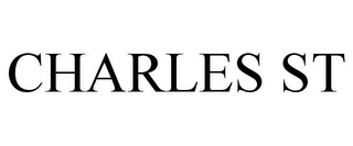 mark for CHARLES ST, trademark #85685407