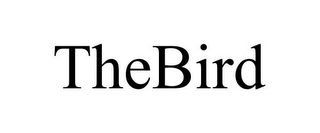 mark for THEBIRD, trademark #85685839