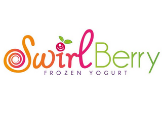 mark for SWIRL BERRY FROZEN YOGURT, trademark #85685943