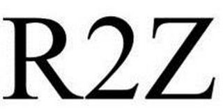 mark for R2Z, trademark #85685987