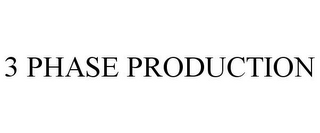 mark for 3 PHASE PRODUCTION, trademark #85686163