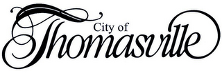 mark for CITY OF THOMASVILLE, trademark #85686407