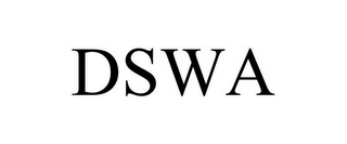 mark for DSWA, trademark #85686473