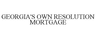 mark for GEORGIA'S OWN RESOLUTION MORTGAGE, trademark #85686505