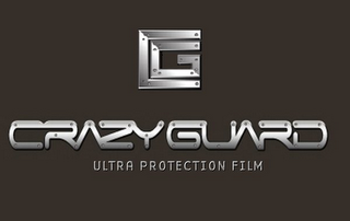 mark for CRAZYGUARD ULTRA PROTECTION FILM CG, trademark #85686541