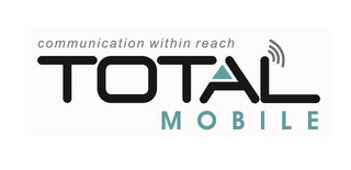 mark for TOTAL MOBILE COMMUNICATION WITHIN REACH, trademark #85686938
