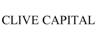 mark for CLIVE CAPITAL, trademark #85687175