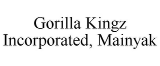 mark for GORILLA KINGZ INCORPORATED, MAINYAK, trademark #85687295