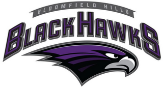 mark for BLOOMFIELD HILLS BLACK HAWKS, trademark #85687356