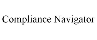 mark for COMPLIANCE NAVIGATOR, trademark #85687626