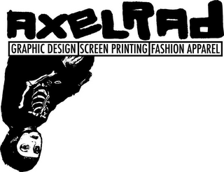 mark for AXELRAD GRAPHIC DESIGN SCREEN PRINTING FASHION APPAREL, trademark #85687801