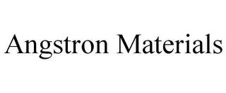 mark for ANGSTRON MATERIALS, trademark #85687952