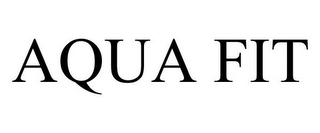 mark for AQUA FIT, trademark #85687993