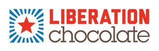 mark for LIBERATION CHOCOLATE, trademark #85688089