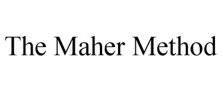 mark for THE MAHER METHOD, trademark #85688147