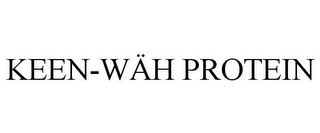 mark for KEEN-WÄH PROTEIN, trademark #85688279