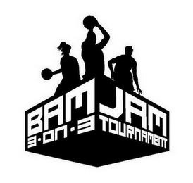 mark for BAM JAM 3 ON 3 TOURNAMENT, trademark #85688544