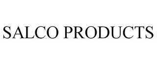 mark for SALCO PRODUCTS, trademark #85688597
