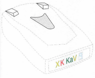 mark for XK KAV 9, trademark #85688845