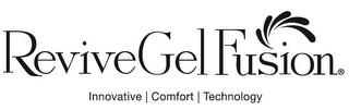 mark for REVIVEGEL FUSION INNOVATIVE COMFORT TECHNOLOGY, trademark #85689386