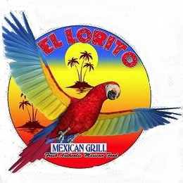 mark for EL LORITO MEXICAN RESTAURANT FRESH AUTHENTIC MEXICAN FOOD, trademark #85689446