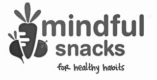 mark for MINDFUL SNACKS FOR HEALTHY HABITS, trademark #85689487