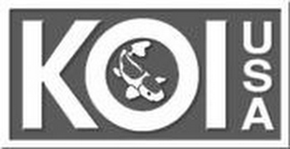 mark for KOI USA, trademark #85689555