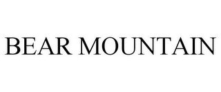 mark for BEAR MOUNTAIN, trademark #85689596