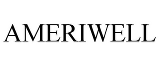 mark for AMERIWELL, trademark #85689927