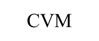 mark for CVM, trademark #85690041