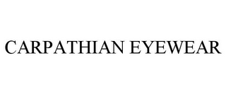 mark for CARPATHIAN EYEWEAR, trademark #85690129