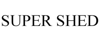 mark for SUPER SHED, trademark #85690210