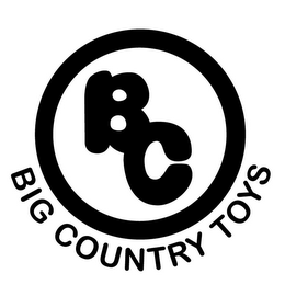 mark for BC BIG COUNTRY TOYS, trademark #85690261