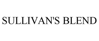 mark for SULLIVAN'S BLEND, trademark #85690409
