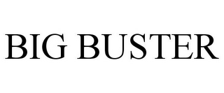 mark for BIG BUSTER, trademark #85690616
