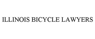 mark for ILLINOIS BICYCLE LAWYERS, trademark #85690767