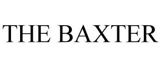 mark for THE BAXTER, trademark #85691163